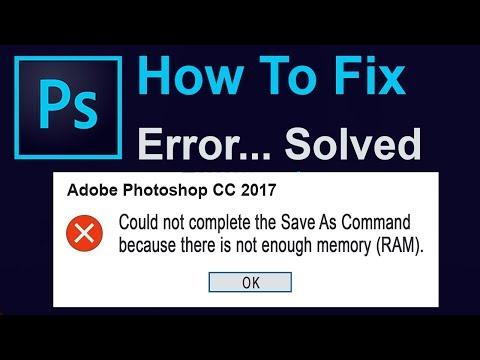 problem parsing jpeg data photoshop 2018