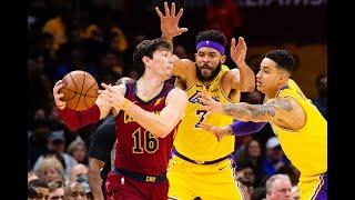 Nba Live Today: Lakers Vs Cavaliers I Monday January 13, 2020, 10:30 Pm (est)