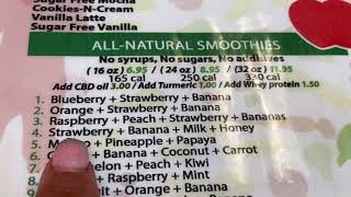 florida Где во Флориде можно найти кафе здорового питания Соки смузи салаты в борьбе с простудой
