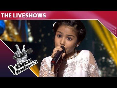 Shruti Goswami Performs on Aaiya Meharbaan  The Voice India Kids  Episode 28