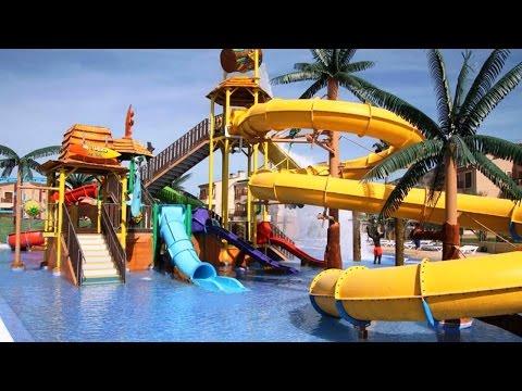 Top10 Hotels With Water Slides Or Aqua Park In Benidorm, Costa Blanca, Spain
