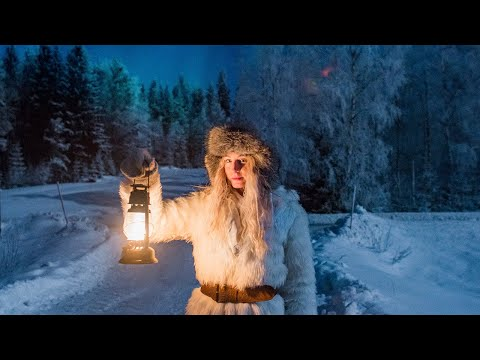 Living with the Dark Winters in Sweden | Midnight sun & Polar night
