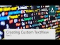 How To Create A Custom Font TextView