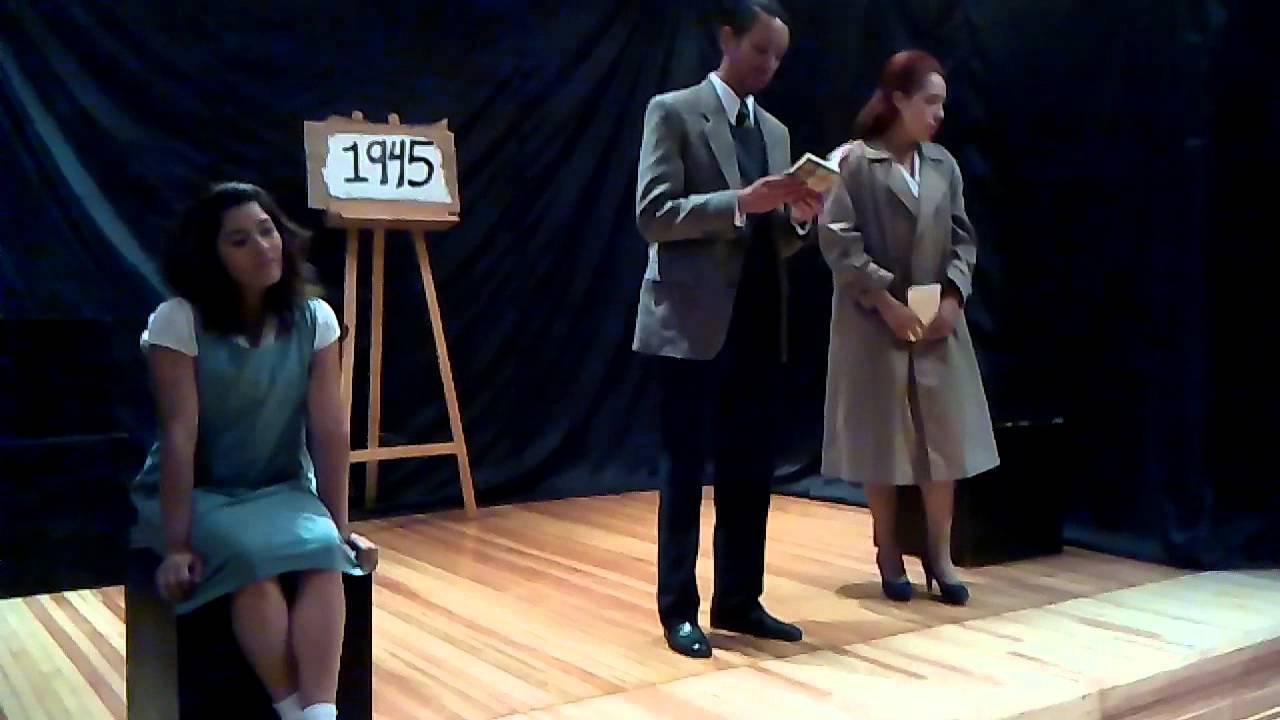 Obra Teatral El Diario de Ana Frank(1) - YouTube
