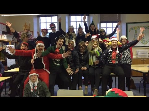 Hawick High School | I Wish It Could Be Christmas Everyday - 2016 Music Video