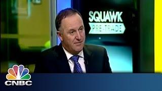 SNB Move Affected Kiwi | John Key Exclusive | CNBC International