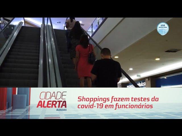 Shoppings fazem testes da covid-19 em funcionários para possível reabertura