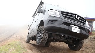 SPRINTER 4x4 - OFFROAD(Offroad testing the Mercedes Sprinter 4x4 through technical, dry terrain. This is a video published by CampoVans.com. All rights reserved., 2016-12-11T05:05:50.000Z)