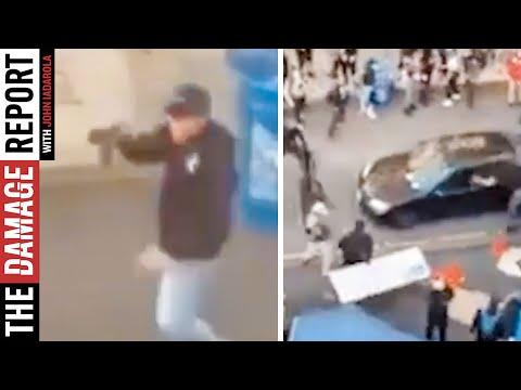 Domestic Terrorist ATTACKS Protesters In Seattle
