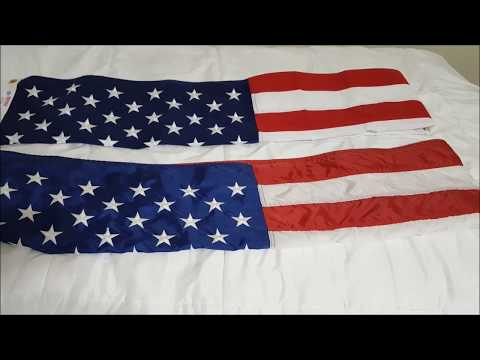 Nylon Flags Vs Sewn Polyester Flags
