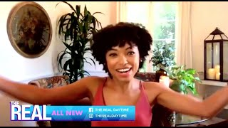 Tuesday on 'The Real': Logan Browning