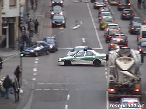 Special video - Unfall mit Polizei / Accident with police car