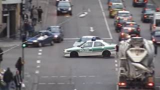 Special video  Unfall mit Polizei  Accident with police car