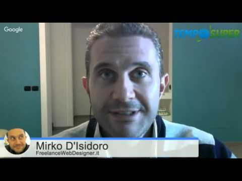[40] Un papà freelance tra Grafica, SEO e Web marketing (con Mirko D'Isidoro)