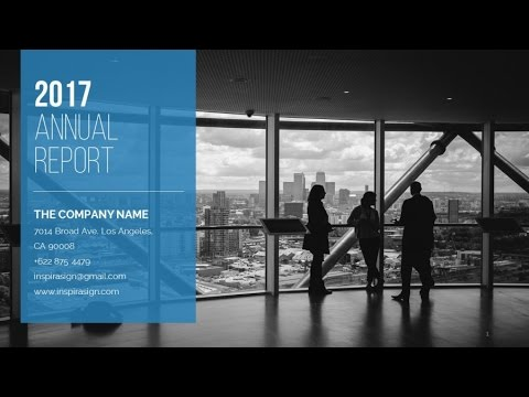 Annual Report Powerpoint Template - YouTube