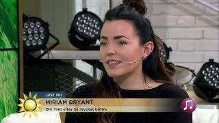 Miriam Bryant om kändislivet - Nyhetsmorgon (TV4)
