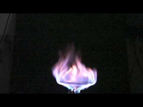 Combustion of natural gas explained