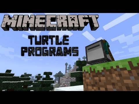 Feed The Beast: Turtle Programs! -Auto Woodcutting & Auto Mining- (Minecraft Mod Pack)