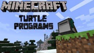 Feed the Beast: Turtle Programs! -Auto Woodcutting & Auto Mining- (Minecraft Mod Pack)