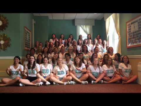 Song Round Chi Omega Bucknell 2015