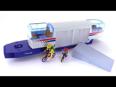 Playmobil express train car from 1997 set 4119 youtube - Train playmobil ...