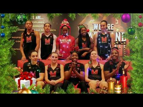 Happy Holidays from Maryland Women's Basketball!