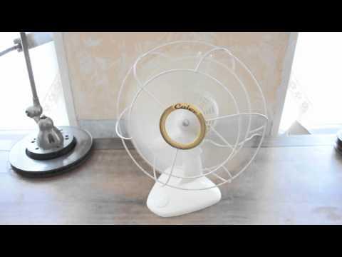 ancien ventilateur calor vintage industrie du rom597ex7e youtube. Black Bedroom Furniture Sets. Home Design Ideas