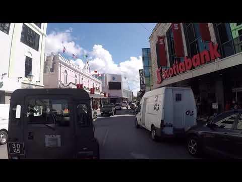 Barbados Bridgetown City Center, Gopro / La Barbade Bridgetown Centre ville, Gopro