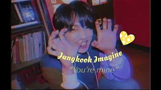 Jungkook Imagine // couple goals 13+