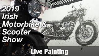 Motorcycle Art Part 82 / 2019 Irish Motorbike & Scooter Show