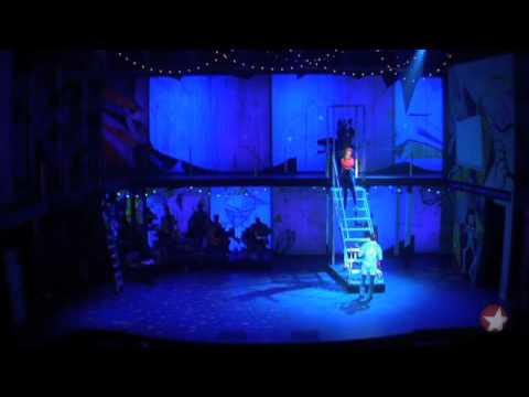 Sahr Ngaujah as Fela Anikulapo-Kuti and Saycon Sengbloh in Broadway Musical
