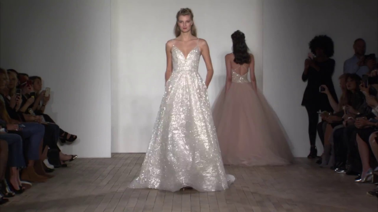 Lazaro Bridal Style 3814 - YouTube