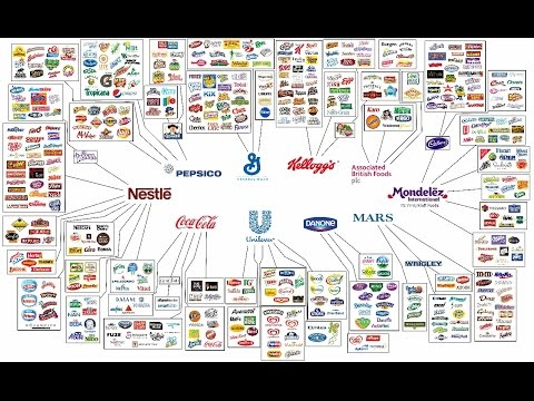 Top 10 Corporations that Control the World's Food