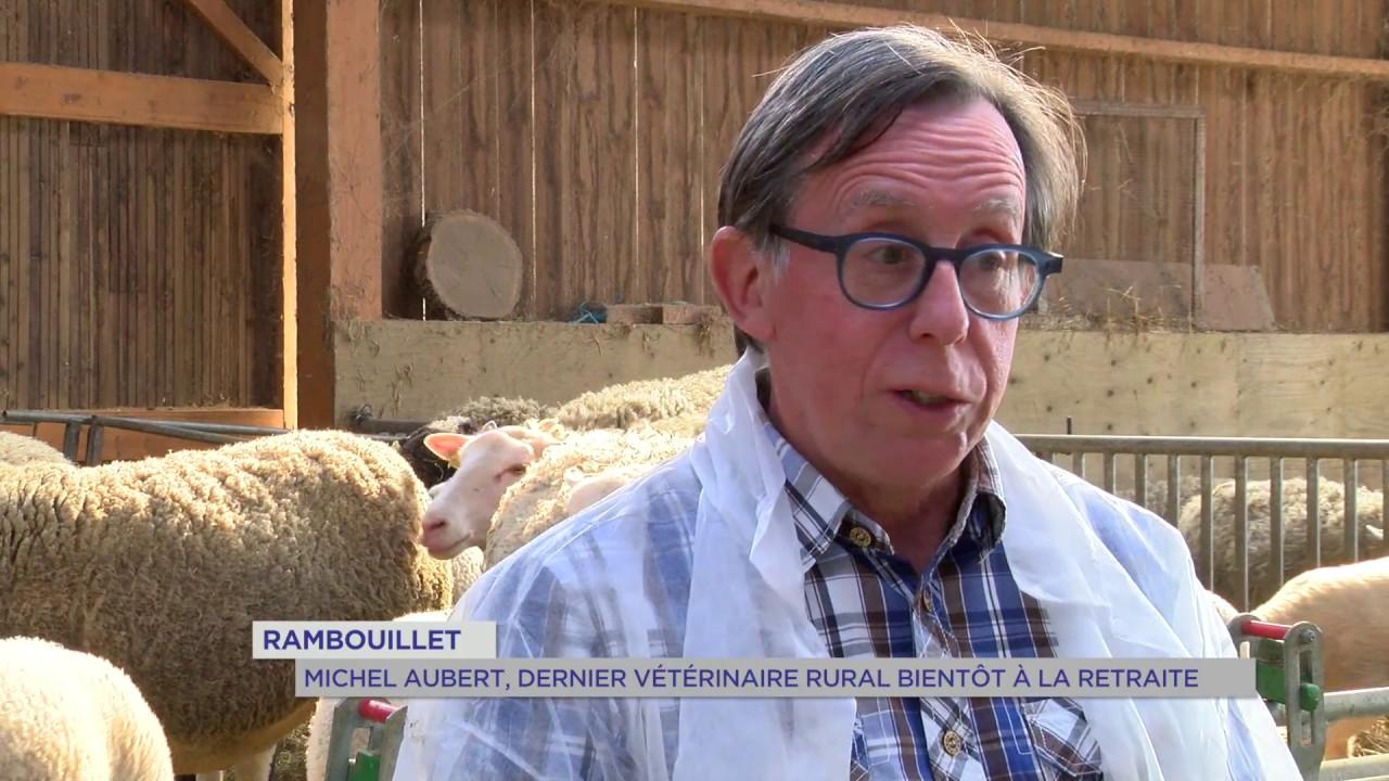 Rambouillet : Michel Auber le dernier vétérinaire rural