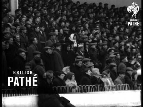 Burnley Beat Spurs (1963)