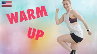 How to WARM UP - Fun, Quick & Easy WARM UP WORKOUT