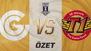 Clutch Gaming ( CG ) vs SK telecom T1 ( SKT ) Maç Özeti | Worlds 2019 Grup Aşaması 3. Gün