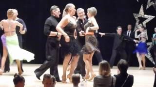 Бальные танцы Сеньоры видео Ча-ча-ча Primavera Cup