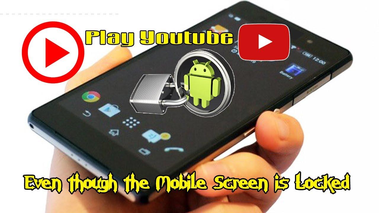 Cara Memutar Video Youtube Walaupun Kondisi Layar Handphone Terkunci