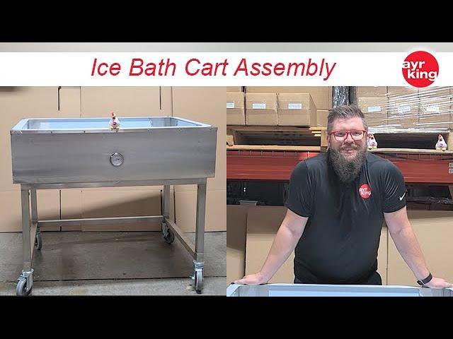 AyrKing Ice Bath Cart Assembly