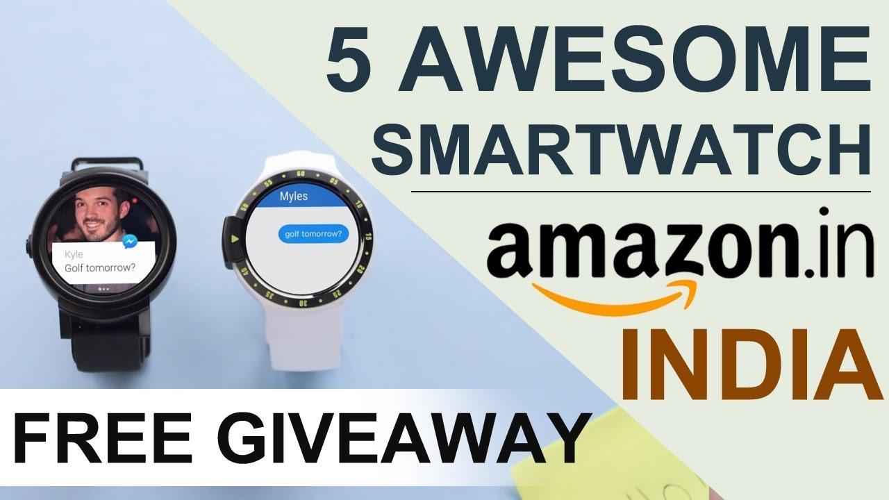 5 Best Smartwatches You Buy Online Today On Amazon India   Desi Bit Exclusive