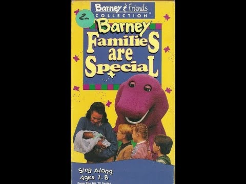 Barney: Families Are Special (1995 VHS Rip)