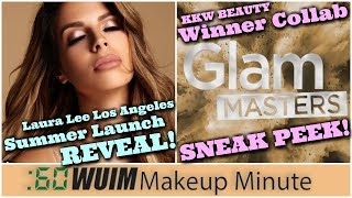 Laura Lee Los Angeles Summer Collection! KKW Beauty x Glam Masters Winner Collab! | Makeup Minute