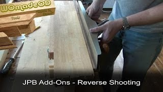 Reverse Shooting Fence - Japanese Planing Board Add-ons