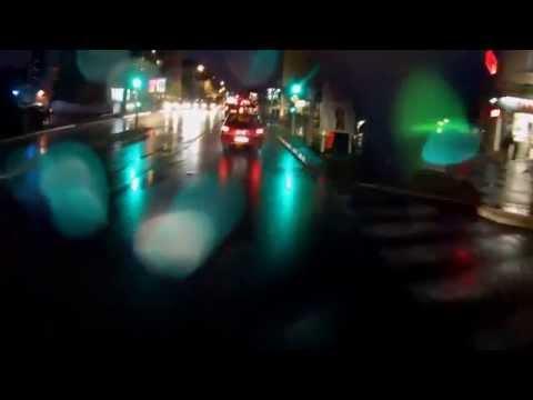 Scènes de la Vie à Vélo à Lyon 0008 - Vélotaf un soir sous la pluie
