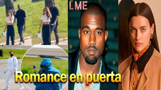 Romance confirmado: Kanye West celebró su cumpleaños al lado de Irina Shayk en Francia.