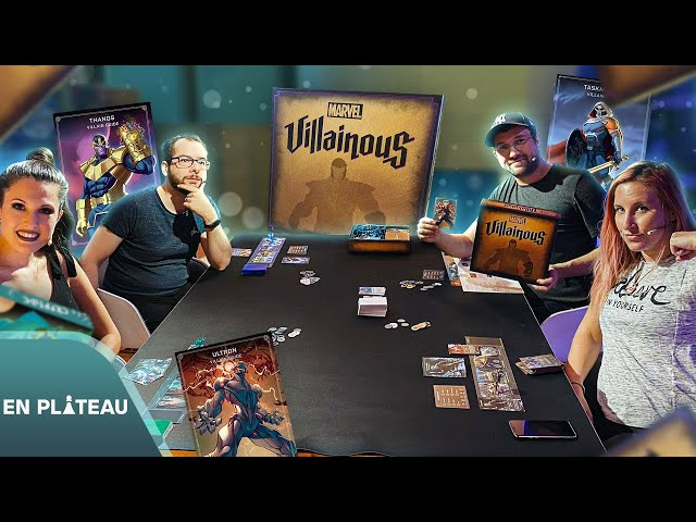 On incarne les vilains de l'univers Marvel 😈🎲 - Villainous | En Plateau
