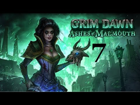 Let's Play Grim Dawn - Ashes of Malmouth - 7: Barrowholm Mine and the wards