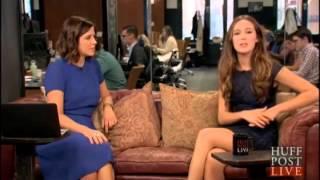 alycia debnam carey interview huff post live