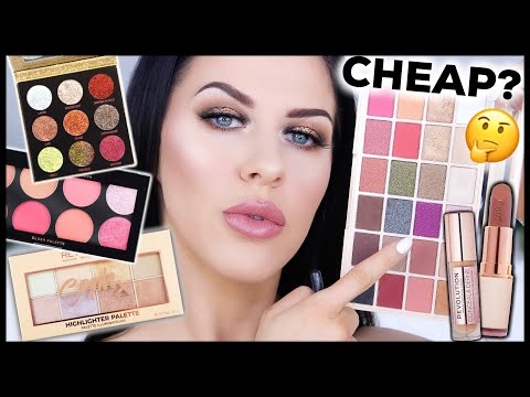 FULL FACE OF MAKEUP REVOLUTION TESTED! WHAT'S GOOD & WHAT TO AVOID!!